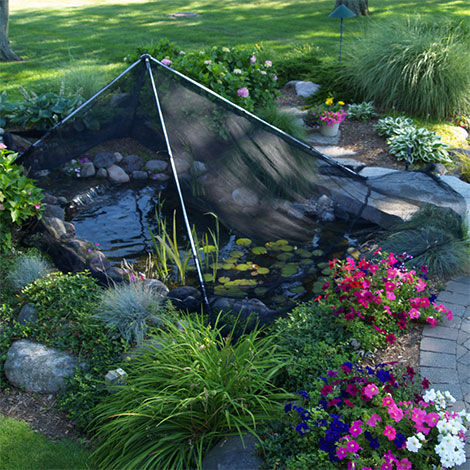 I need a net to protect my pond from leaves. Which one works the best?