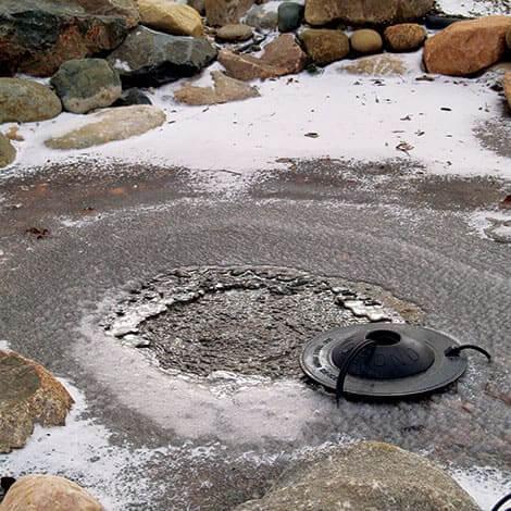 Size a Pond De-Icer