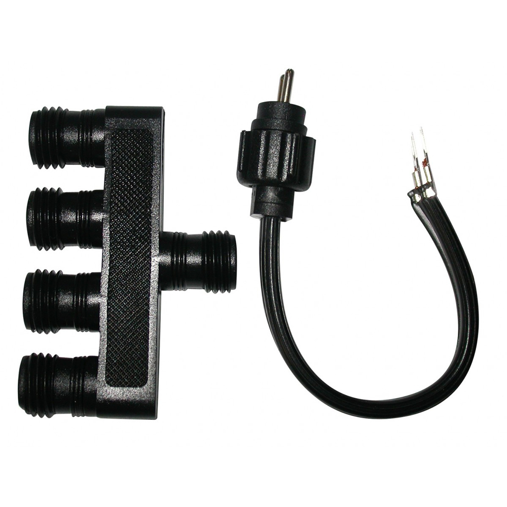 Alpine™ 4 Way Socket Connector for Transformer