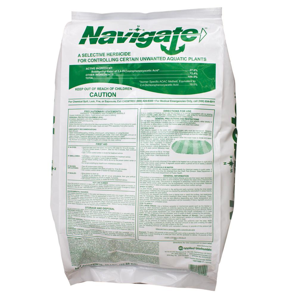 Navigate<sup>&reg;</sup> Granular Aquatic Herbicide