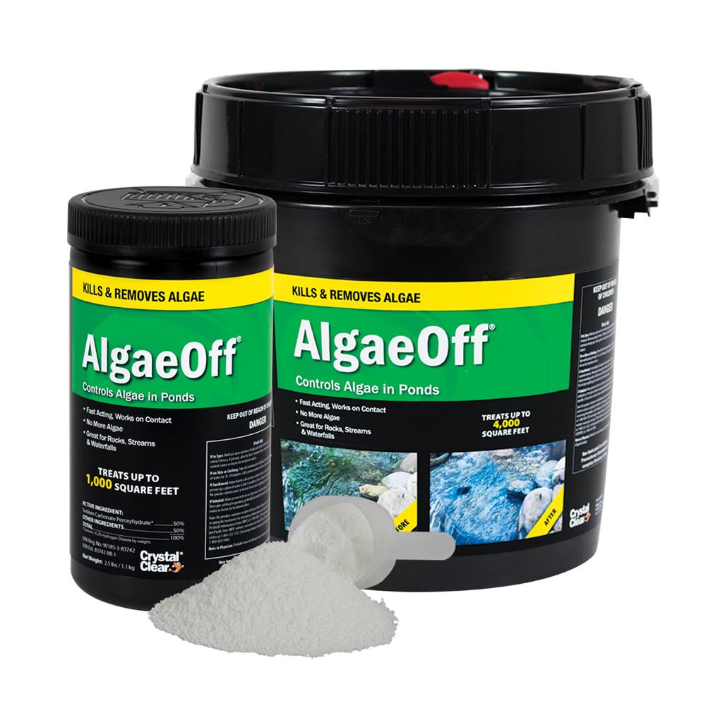 CrystalClear<sup>&reg;</sup> AlgaeOff<sup>&reg;</sup> String Algae Remover