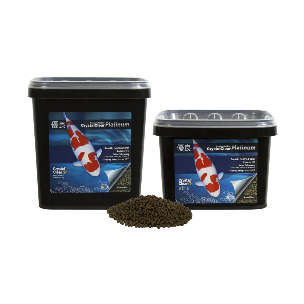 CrystalClear® Platinum Standard Pellet Fish Food
