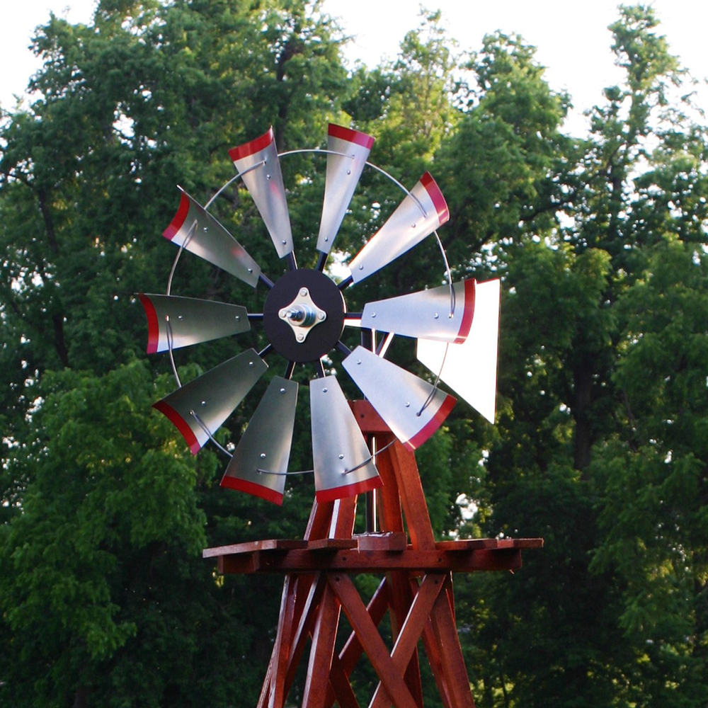 decorative wood backyard windmills - Decorative Windmills