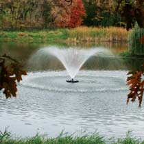 Kasco 1 HP 4400HJF Fountain, 5 Spray Patterns, 230V