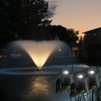 Kasco LED Warm White Fountain Lights - 3 Set