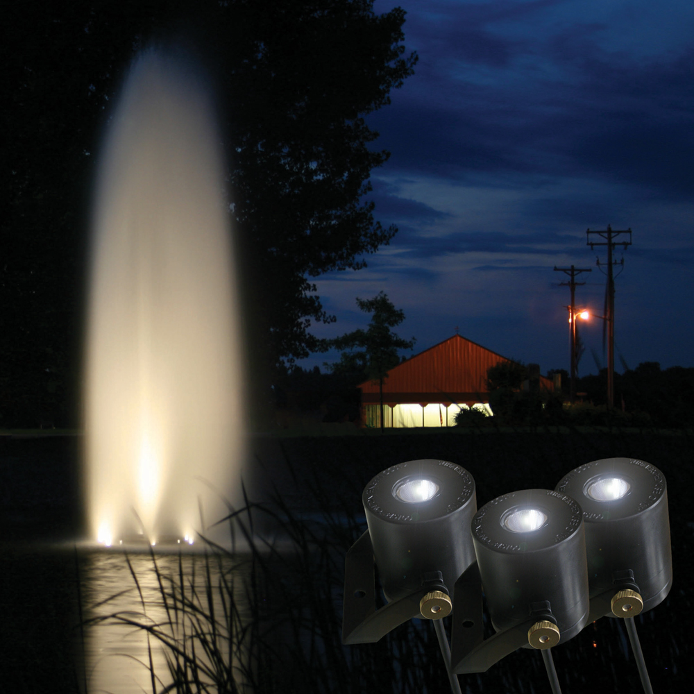 Kasco LED Warm White Fountain Lights - 6 Set