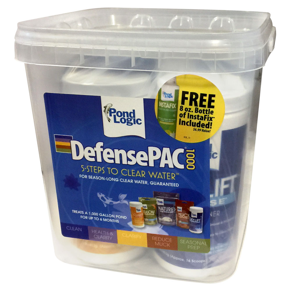 Pond Logic<sup>&reg;</sup> DefensePAC<sup>&reg;</sup> Pond Care Packages