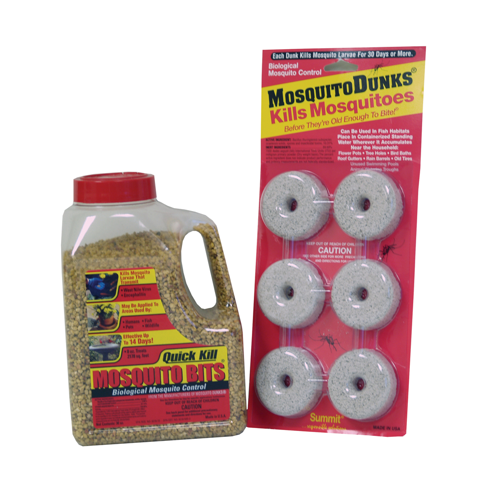Summit® Mosquito Bits® & Dunks®