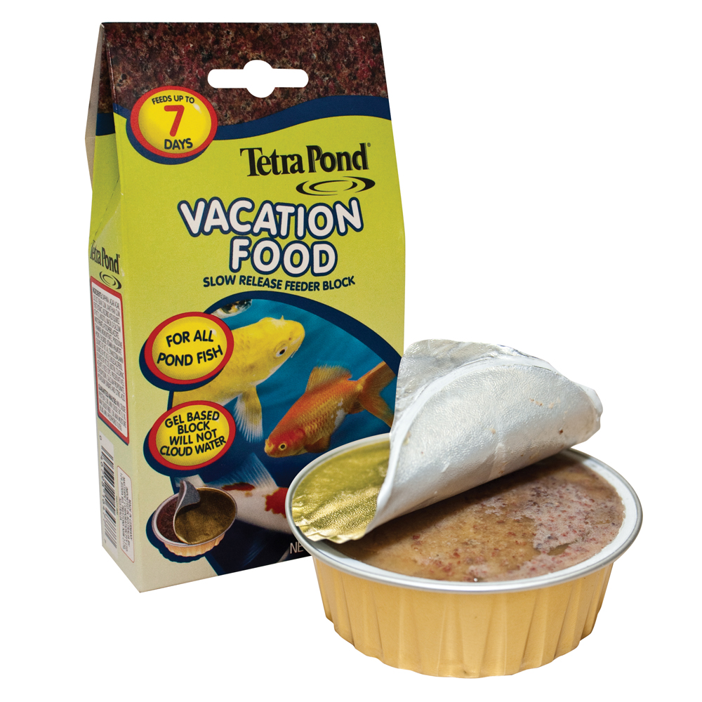 TetraPond® Vacation Food Slow Release Feeder Block
