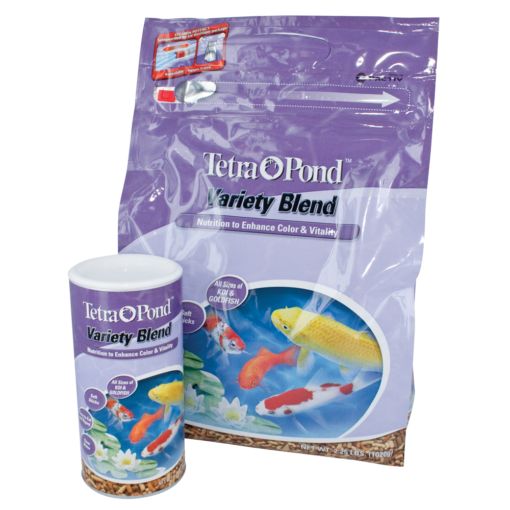 TetraPond® Variety Blend Fish Food