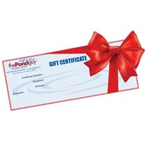 The Pond Guy® Gift Certificate