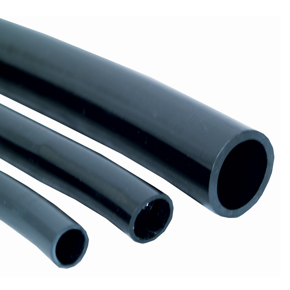 Flexible Black Vinyl Tubing - 5/8 Inch