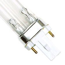 "5 Watt UV Bulb (2 Pin - Single Clip) - 4"" Long"