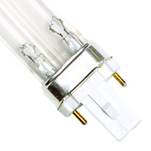 9 Watt UV Bulb (2 Pin - Single Clip) - 6.5 Long