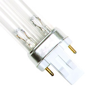 13 Watt UV Bulb (2 Pin - Double Clip) - 7.25 Long