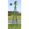 Ornamental 20' Green & Yellow Powder Coated Windmill