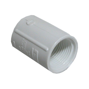 PVC Threaded Coupler