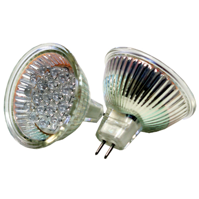 LED Light Bulbs - MR16 Base